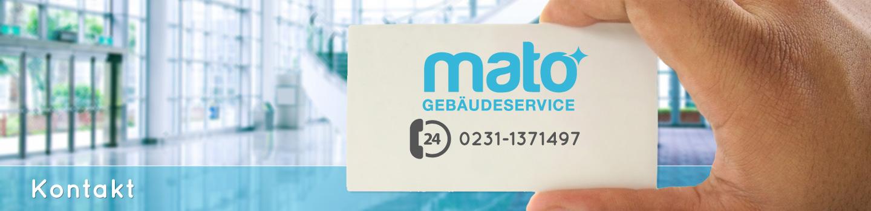 Kontakt Impressum Mato Gebäudeservice GmbH & Co. KG