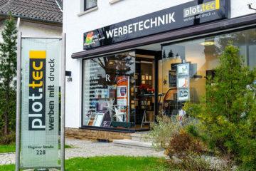plot.tec - Ihr Partner für Werbetechnik in Dortmund